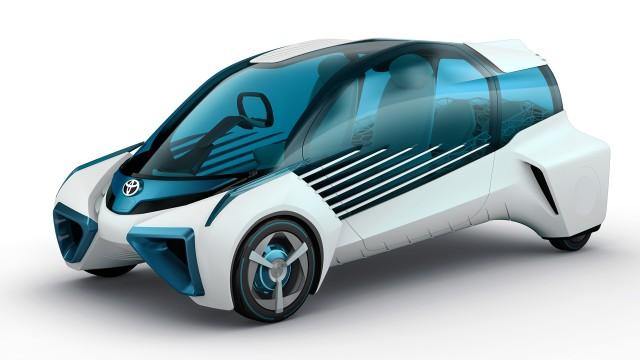 Toyota FCV Plus concept, 2015 Tokyo Motor Show