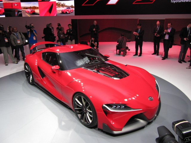 Toyota FT 1 Concept At 2014 Detroit Auto Show
