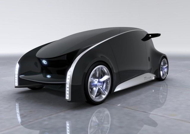 Toyota Fun-Vii concept, 2011 Tokyo Motor Show