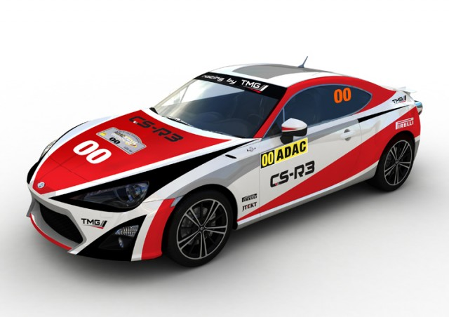Toyota GT86 CS-R3 WRC rally car