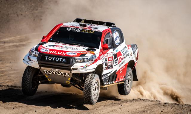 Toyota Hilux at the 2019 Dakar rally