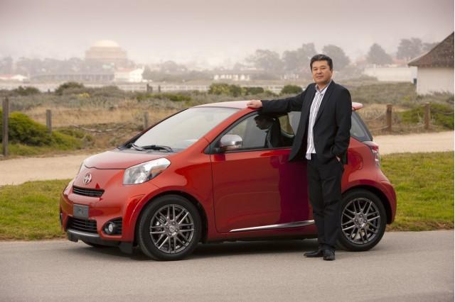 Toyota iQ chief engineer Hiroki Nakajima