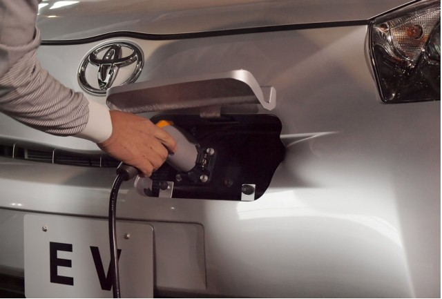 Toyota To Launch Home Electric Car Charger Jumping Into A Crowded