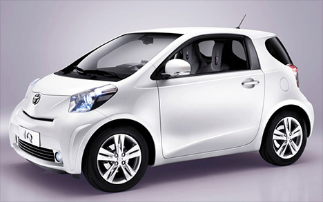 First Fully Electric Car Toyota Iq