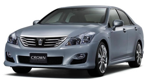 Toyota Launches Redesigned Crown Flagship Saloon