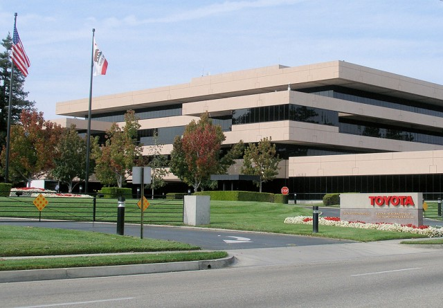 Toyota Motor Sales headquarters in Torrance, California