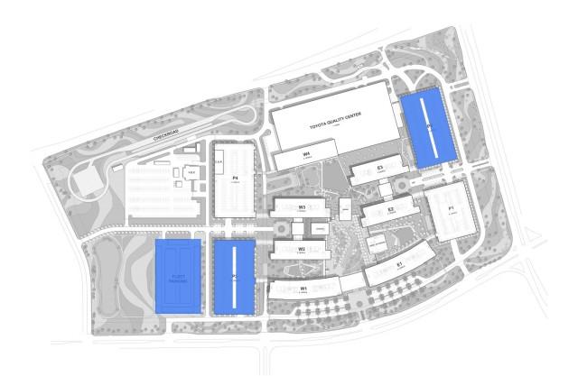 Toyota Plano, Texas, solar diagram