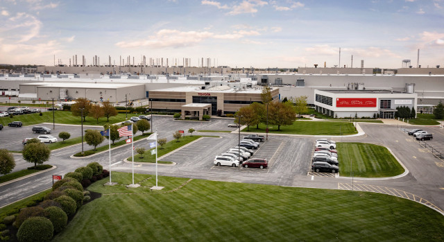 Toyota plant in Princeton, Indiana