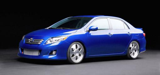 Toyota presents tuned S3 Corolla at SEMA