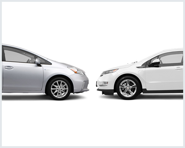 toyota prius plug in vs chevy volt which is cheaper per mile. Black Bedroom Furniture Sets. Home Design Ideas