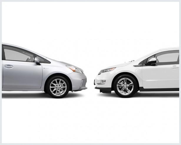 Toyota Prius Vs. Chevrolet Volt