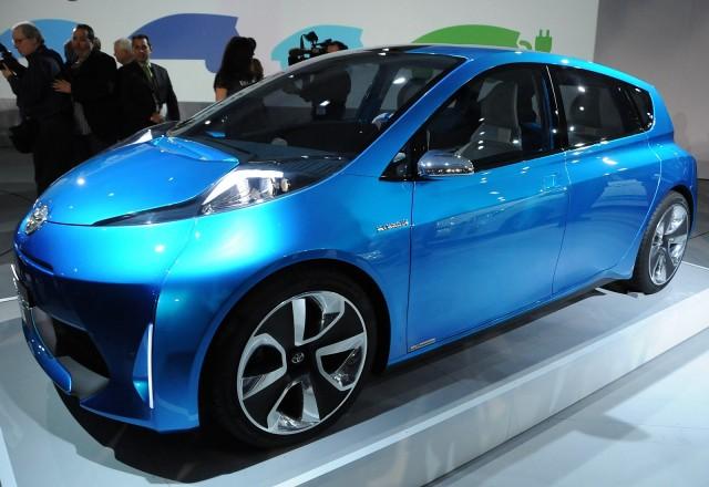 Toyota Prius C Concept launch press conference, 2011 Detroit Auto Show