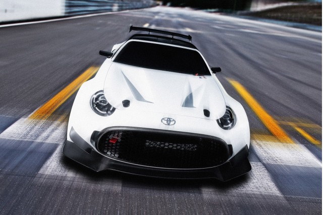 Toyota S-FR Racing concept, 2016 Tokyo Auto Salon