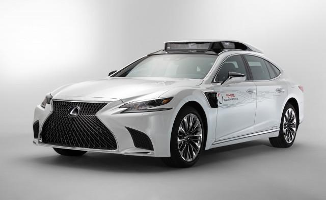 Toyota self-driving car prototype