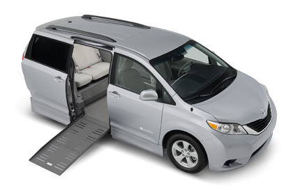 Toyota Sienna - wheelchair accessible conversion