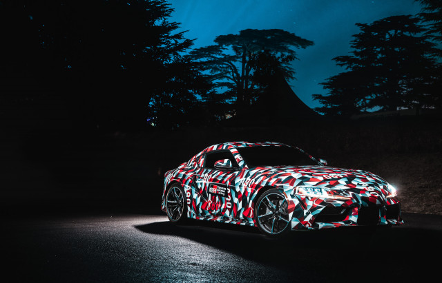 Toyota Supra at Goodwood: Here's the prototype in the metal