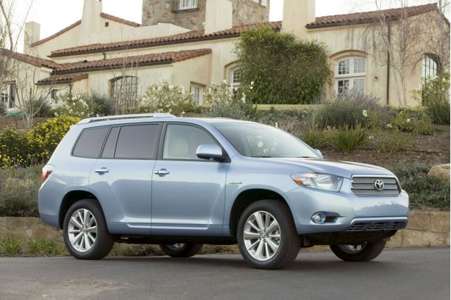 2009 toyota highlander hybrid the only hybrid that seats. Black Bedroom Furniture Sets. Home Design Ideas