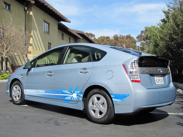 prototype 2012 Toyota Prius Plug-In Hybrid, April 2010
