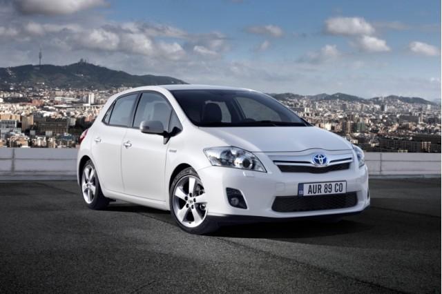 2011 Toyota Auris Hybrid - European model