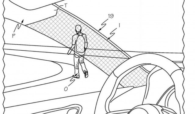 Toyota pillar cloaking device patent