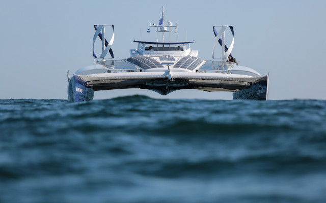 Toyota sponsors Energy Observer autonomous hydrogen-powered boat