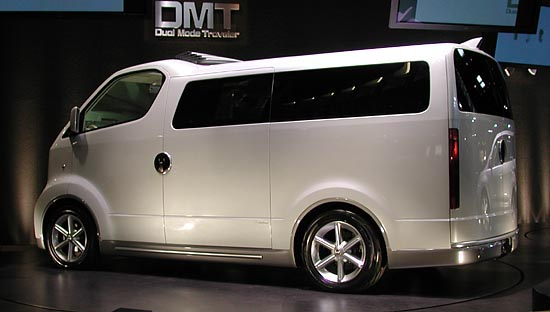 Toyota DMT concept 2001 Tokyo