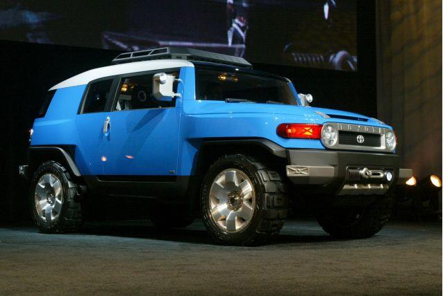 Toyota FJ Cruiser concept