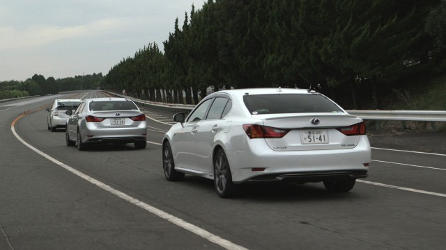 Toyota's Automated Highway Driving Assist (AHDA) maintains inter-vehicle distance
