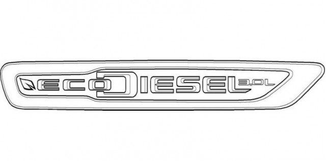 Trademark for Chrysler's new EcoDiesel badge filed with the U.S. Patents and Trademarks office