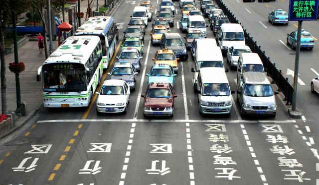 Traffic in China