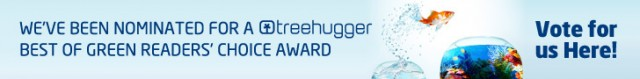 TreeHugger 2012 Best of Green Awards nomination banner
