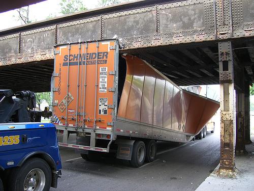 Truck Crunch 3 by Flickr user Kim Scarborough