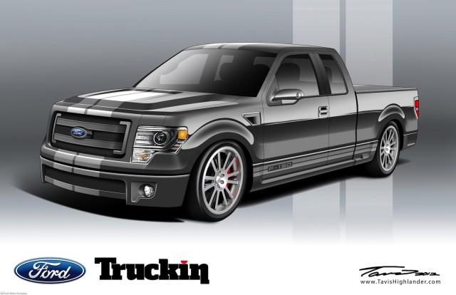 Truckin' Magazine's F-150 SEMA concept