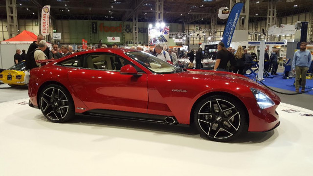 TVR Griffith on display at NEC Classic Motor Show, Birmingham, Nov 2017