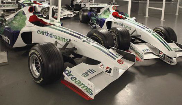 Brawn GP Auctioning Off Honda F Cars At Silverstone Classic Event - F1 show car