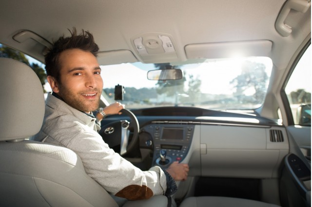 Uber driver (photo by Uber)