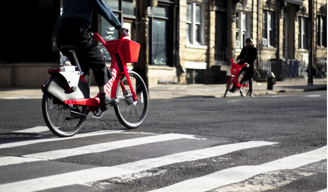 Uber's bikes proving more popular than its cars