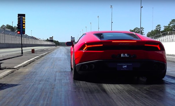 1 800 Hp Lamborghini Huracan Destroys 1 4 Mile In 7 8 Seconds Video
