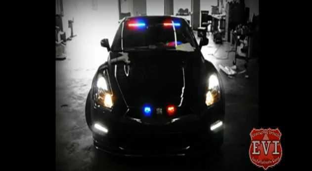 Unmarked 2012 Nissan GT-R police car