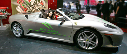 Updated - Ferrari prepping F430 Spider Bio Fuel