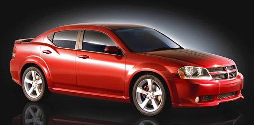 Updated Dodge Avenger Concept