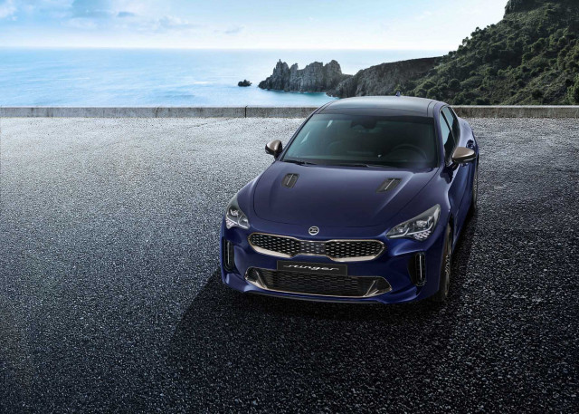 Updated Kia Stinger