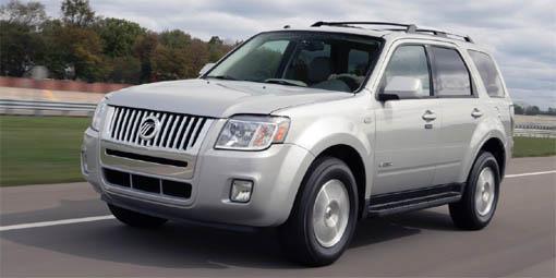 Updated: Meet the 2008 Mercury Mariner SUV