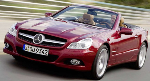 Updated: More pics of 2009 Mercedes-Benz SL facelift