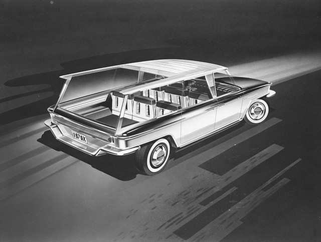 Utopia wagon concept by designer Brooks Stevens, 1960 [image courtesy Milwaukee Art Museum]