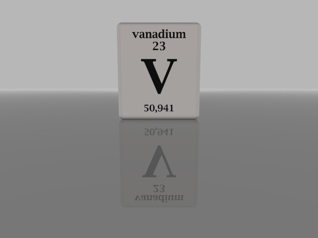 Vanadium (Image: Flickr user fdecomite, used under CC License)