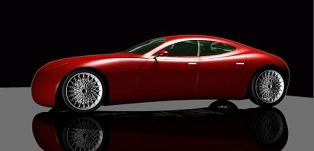 Vanasperen Four Door Sports Car Design Study Aims At Sustainability