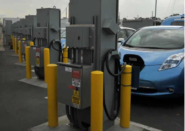 Vehicle-to-grid pilot program at Los Angeles Air Force Base
