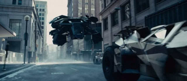 Vehicles play supporting roles in The Dark Knight Rises
