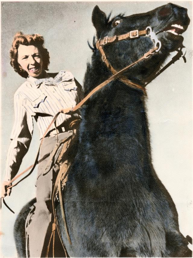 Velma Bronn Johnston, Wild Horse Annie (Denver Public Library, Western History/Genealogy collection)